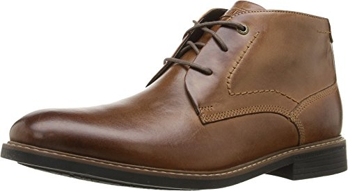 Rockport Men's Classic Break Chukka Boot- Dark Brown Leather-16  M