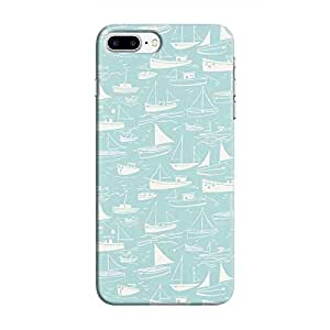 Cover It Up - Harbour Print Cyan iPhone 7 PlusHard Case