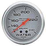 Auto Meter 4632 PRO COMP 2-5/8IN SILVER
