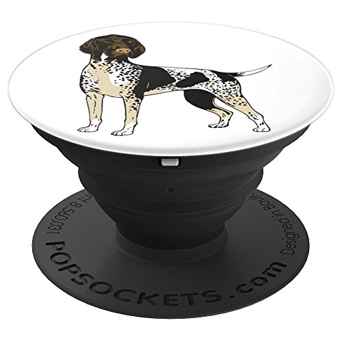 (German Shorthaired Pointer Dog Breed Pop Socket - PopSockets Grip and Stand for Phones and Tablets)