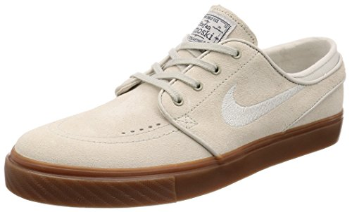 NIKE Men's Zoom Stefan Janoski Light Bone/Light Bone Skate Shoe 11 Men (Mens Nike Sb)