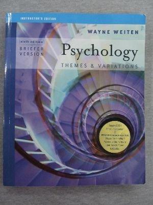 IE Psych T&V Brief Ed 6e