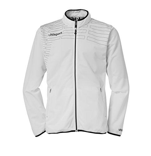 Uhlsport 100513301 - Sudadera con cremallera para mujer Blanco (White/Black)