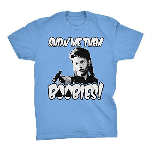 ShirtInvaders Show Me Them Boobies - Funny T-Shirt  - Carolina