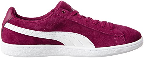 12 Puma De Tennis Chaussures white Soft Femme Rouge Vikkywnf6 red zprzqwS