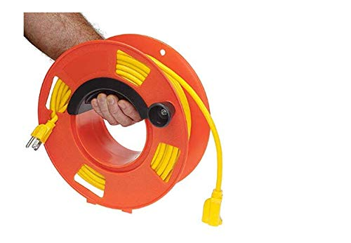 Bayco KW-110 Cord Storage Reel with Center Spin Handle, 100-Feet (Twо Pаck)