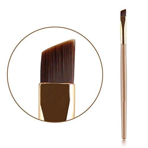 Eyebrow Brush, Molie Professional Flat Angled Eye Brow Eyeliner Makeup - Flat Brow