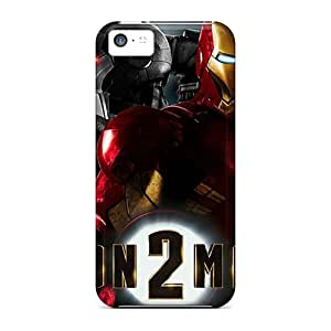 Hard Plastic Iphone 5c Case Back Cover,hot Iron Man 2 Widescreen Case At Perfect Diy