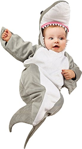 Shark Baby Bunting Costume (Baby-Toddler-Costume Shark Bunting Infant Baby Costume Halloween Costume)