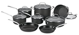 Cuisinart 66-14 Chef\'s Classic Nonstick Hard-Anodized 14-Piece Cookware Set
