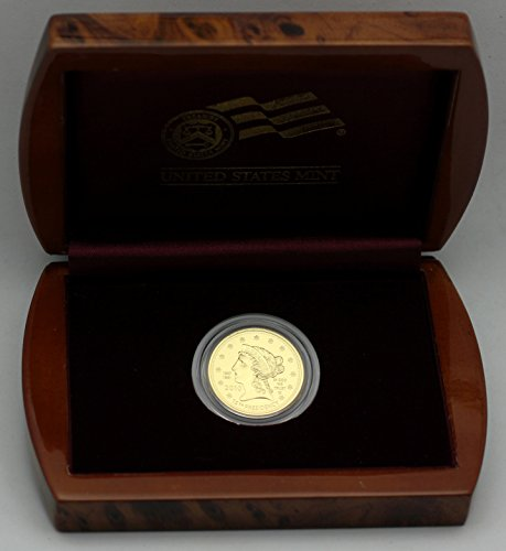 (2010 W First Spouse Gold James Buchanan's Liberty Uncirculated $10 Complete in Box US Mint)