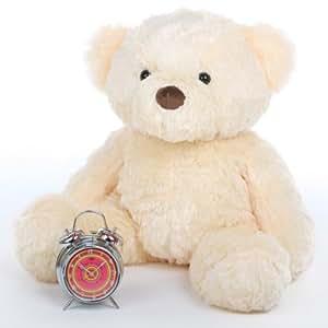 "Smiley Chubs - 30"" - Irresistibly Cute & Extra Plump, Vanilla Cream, Giant Teddy Plush Teddy Bear"