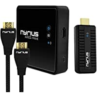 Nyrius ARIES Home HDMI Digital Wireless Transmitter & Receiver for HD 1080p Video Streaming with BONUS HDMI Cable