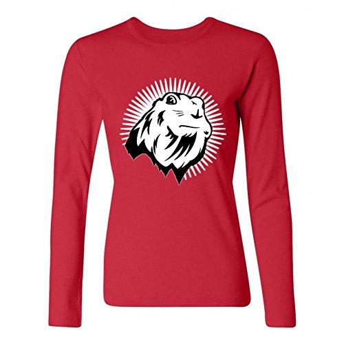 xingl-womens-chipmunk-prairie-dog-sharp-eyes-design-long-sleeve-cotton-t-shirt