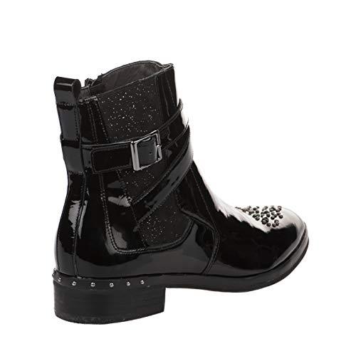 Verni Noir Noir Femme Boots Mam'zelle Boots Mam'zelle Boots Femme Noir Verni Mam'zelle Femme CUFqH