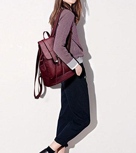 LAIDAYE La Moda De Gran Capacidad Sra Mochila Viajes De Placer DarkBlue
