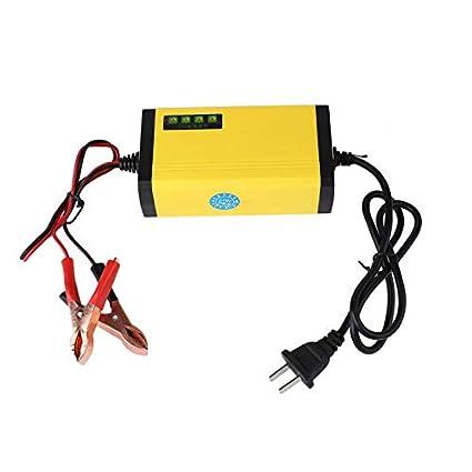 Mini portátil 12V 2A Cargador de batería de Coche Adaptador ...