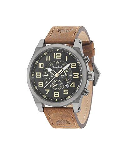 Timberland Tilden Mens Analog Quartz Watch with Leather Bracelet 15247JSU-02