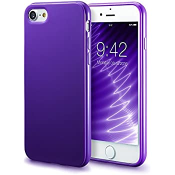 IPhone 7 Purple Case 8 Technext020 Shockproof Ultra Slim Fit Silicone
