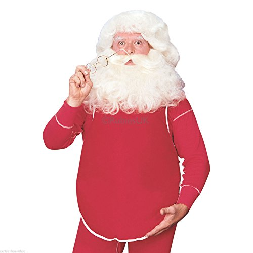 Rubie's Fillable Santa Belly, Red, One Size Costume