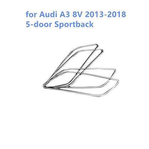 Copertura decorazione di interni maniglia ciotola in acciaio INOX pezzi per A3 8V 2013 2014 2015 2016 2017 2018 YUZHONGTIAN Auto Trims Co. Ltd
