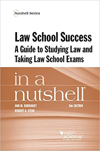Law school success in a nutshell a guide to studying law and taking law school success in a nutshell a guide to studying law and taking law school exams nutshells 3rd edition fandeluxe Image collections