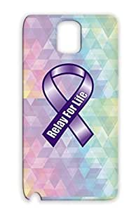 Relay For Life Ribbon Navy Protective Case Sumsang Galaxy Note 3 Careers Professions Miscellaneous