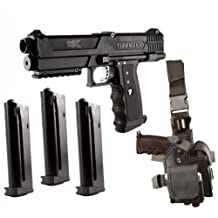 Tippmann TiPX Paintball Pistol Starter Kit - Black