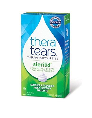 Thera Tears Thera Tears Sterilid Eyelid Foam Scrub, 1.62 ...
