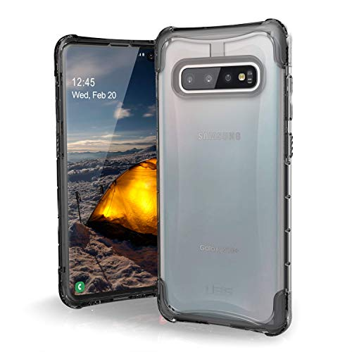 URBAN ARMOR GEAR UAG Designed for Samsung Galaxy S10 Plus [6.4-inch Screen] Plyo [Ice] Military Drop Tested Phone Case