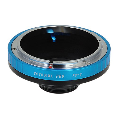 Fotodiox Pro Lens Mount Adapter, for Canon FD, FL Mount lens to C-mount Movie Cameras and CCTV Cameras