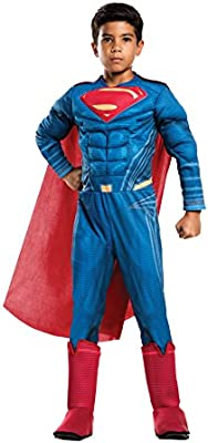 Multicolor Rubie/'s Costume Boys Justice League Deluxe Flash Costume Medium
