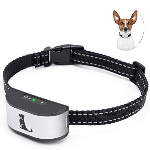 Cheap Anti Bark Collar with Adjustable Strap, New Version No Barking Device with Sound and Vibration for Small, Medium and Large Dogs – Harmless and Humane