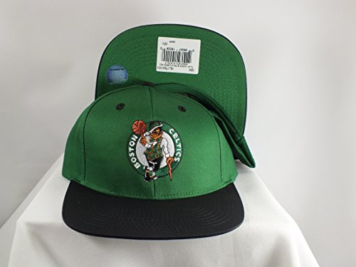 - NBA Adidas Boston Celtics NZ843 Flat Bill HWC Classic Retro Snapback Hat Cap