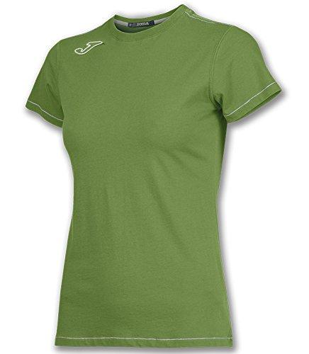 Joma - Camiseta logo joma invictus verde m/c para mujer