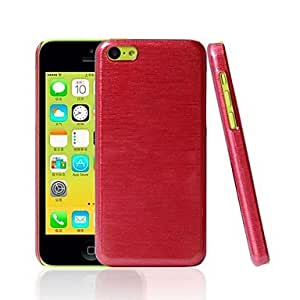 GJYBeautiful PC Material Drawing Hard Shell for iPhone 5C (Assorted Colors) , Red