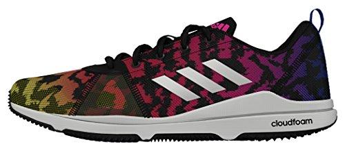 Cloudfoam Deporte Negbas Ftwbla Negro Mujer Arianna Adidas para de Zapatillas Amasol xZwqI5F54