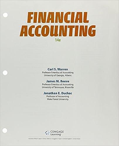 Bundle Financial Accounting Loose Leaf Version