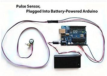 DaoRier XD-58C Pulsesensor Impulsgeber Sensor Modul F/ür Arduino kompatible Puls-Herzfrequenzsensor