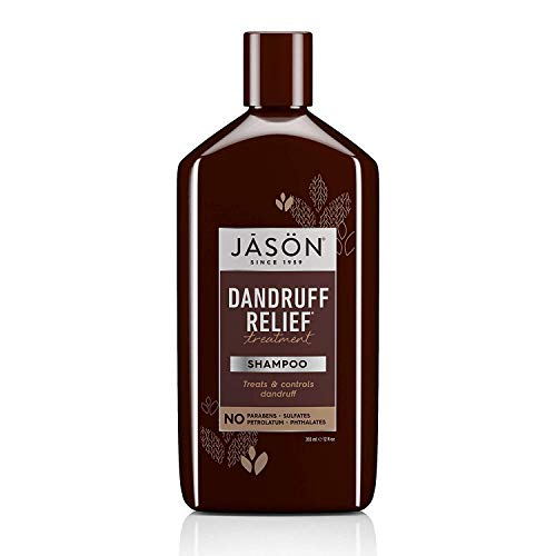 Jason Dandruff Relief Treatment Shampoo 12 oz (Best Shampoo For Winter Dandruff)