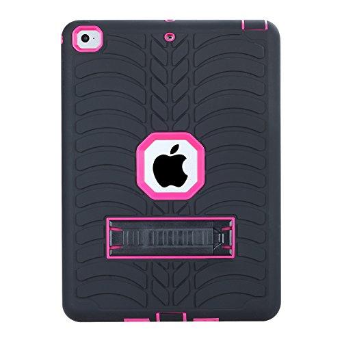 Beimu New iPad 2017 iPad 9.7 inch Case, Kickstand Feature  R