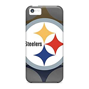 High Impact Dirt/shock Proof Cases Covers For Iphone 5c (pittsburgh Steelers) by lolosakes