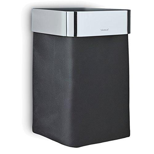 Blomus Nexio Towel Basket Black Polished,