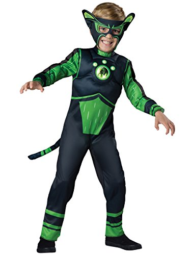 Kratts Wild Suit (InCharacter Costumes Panther Costume, Green, Size)