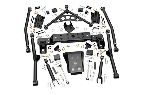 Flex 4 Lift Kit - Rough Country - 90900U - X-Flex Long Arm Upgrade Kit for 4-inch Lifts for Jeep: 99-04 Grand Cherokee WJ 4WD