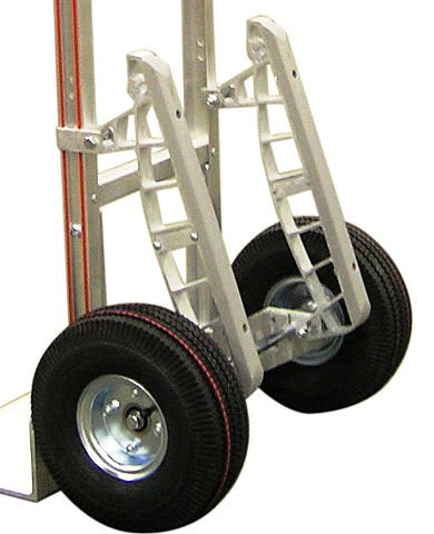 B&P Heavy Duty 18'' Stair Climbers for Aluminum Hand Trucks with Nylon Glides E1L by Modular Parts (Image #10)