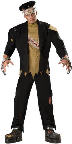 Frankenstein Bride Costume Ideas (Monster Adult Costume - X-Large)