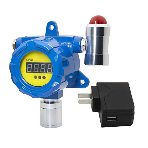 Oddalsail BH-60 Fixed Gas Detector Hydrogen Cyanide Detector High Sensitivity Long Life Blue US
