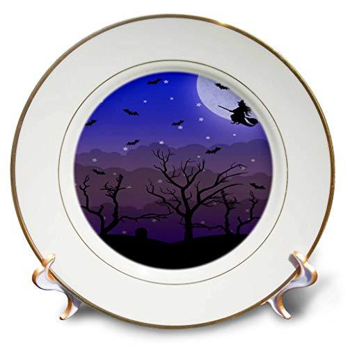 3dRose Janna Salak Designs Halloween - Halloween Graveyard