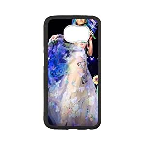 Katy-Perry Samsung Galaxy S6 Cell Phone Case White CVXEYERTE18363 Hard Plastic Phone Case